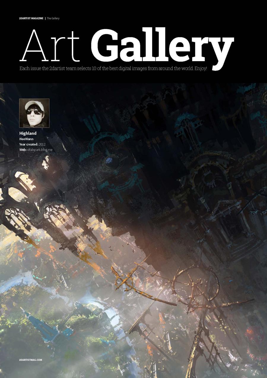 2DArtist Magazine – Issue 116