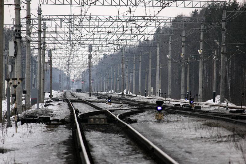 Станция Войтоловка в телеобъектив