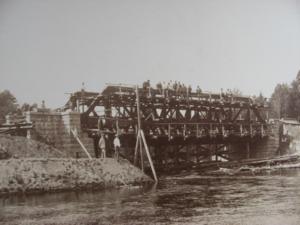 3. Сборка моста через р.Храповлянку