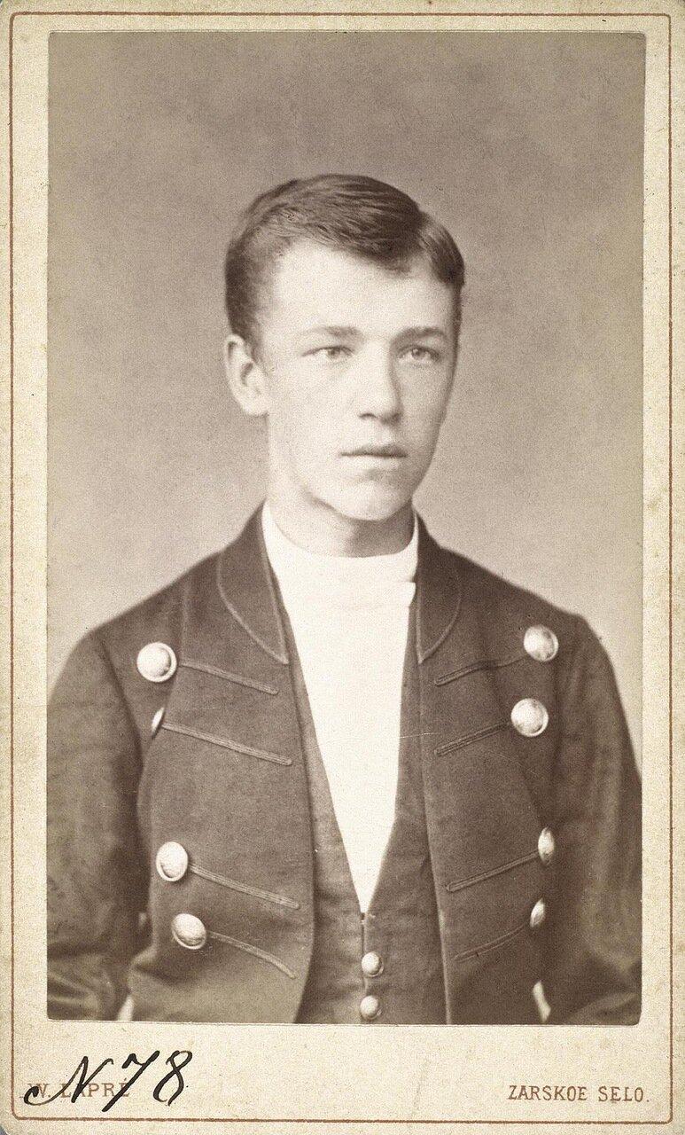 Портрет гоф-курьера Николая Нестерова. 1882