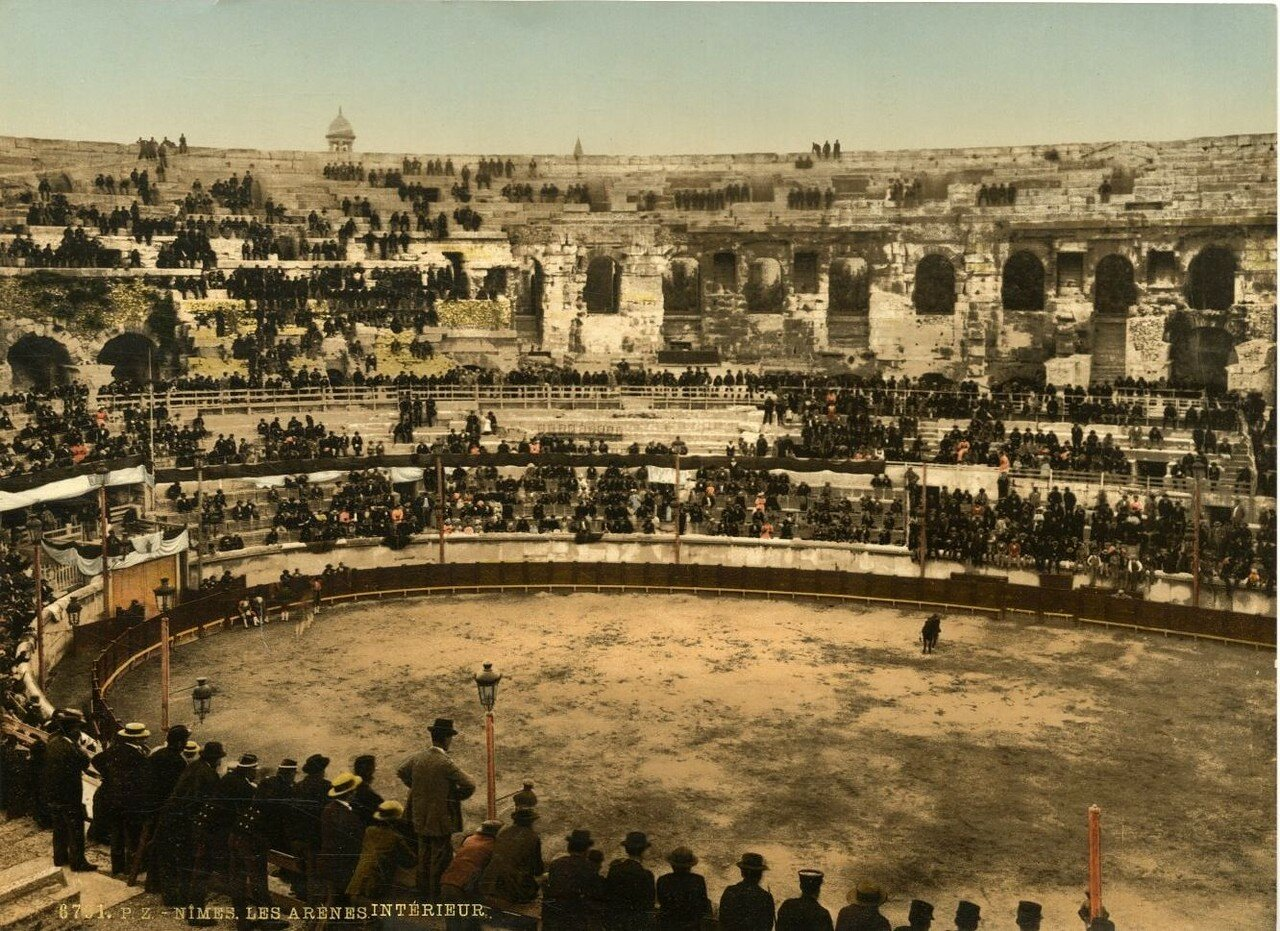 Арена. Коррида. 1880-е