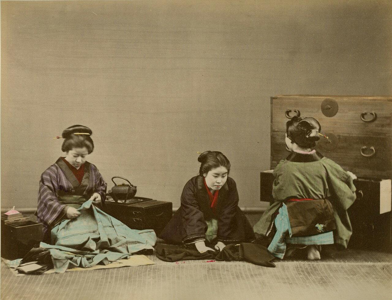 Гейши и их гардероб