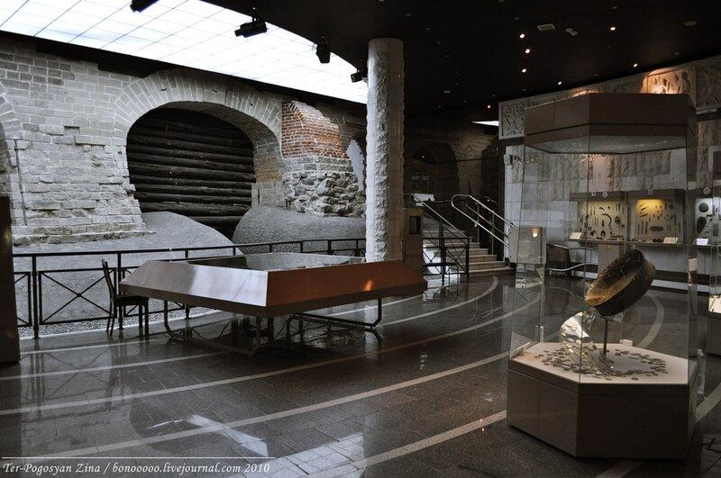 археологический музей москвы фото