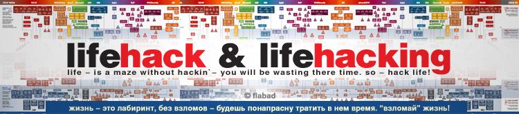 LIFEHACK / ЛАЙФХАКИНГ - Взлом, полезный для жизни. №02/20полезностей.