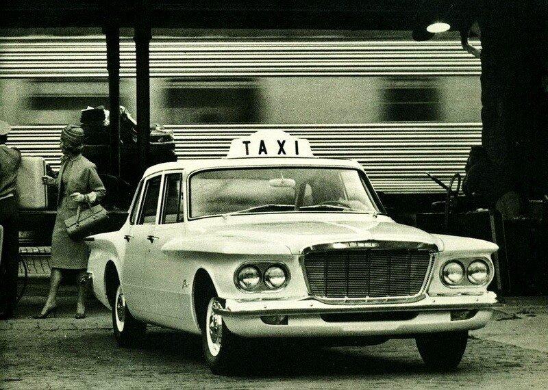 Автоэкзотика. Аэростиль (1960-1965). Часть 6