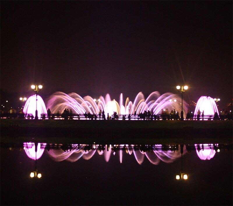 Фонтан в Царицыно, 26 сентября 2010