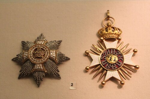 Звезда и знак ордена св.Губерта