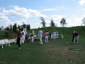 Обучение гольфу. Open Air Agalarov Estates