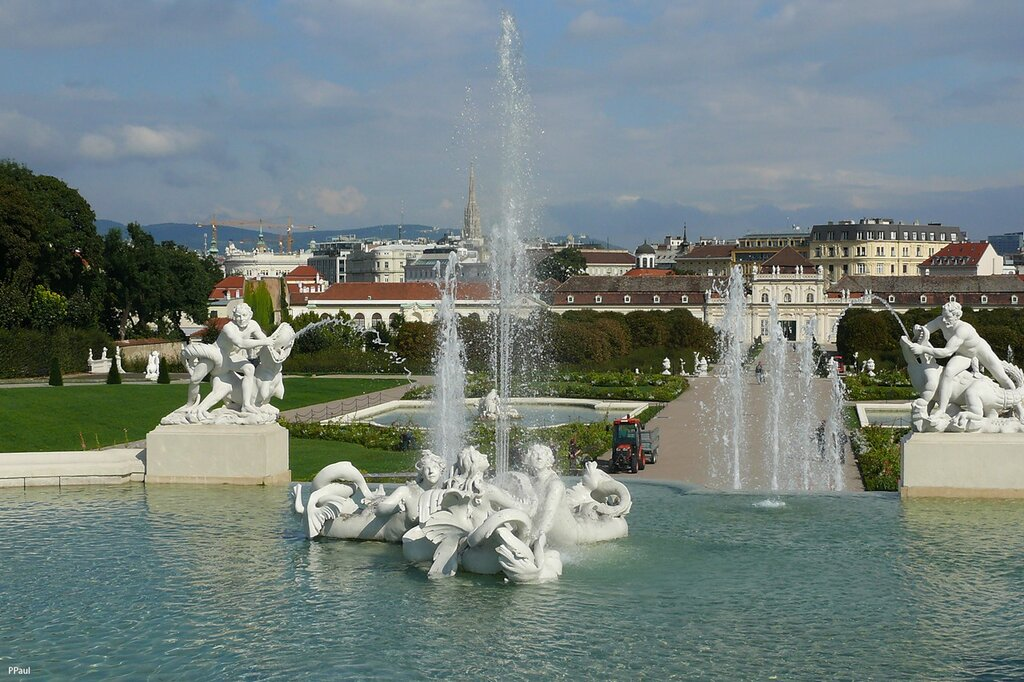 Дворец и парк Бельведер