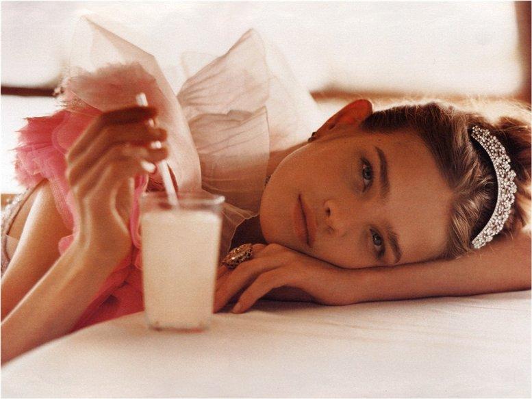 модель Наталья Водянова / Natalia Vodianova, фотограф Bruce Webber