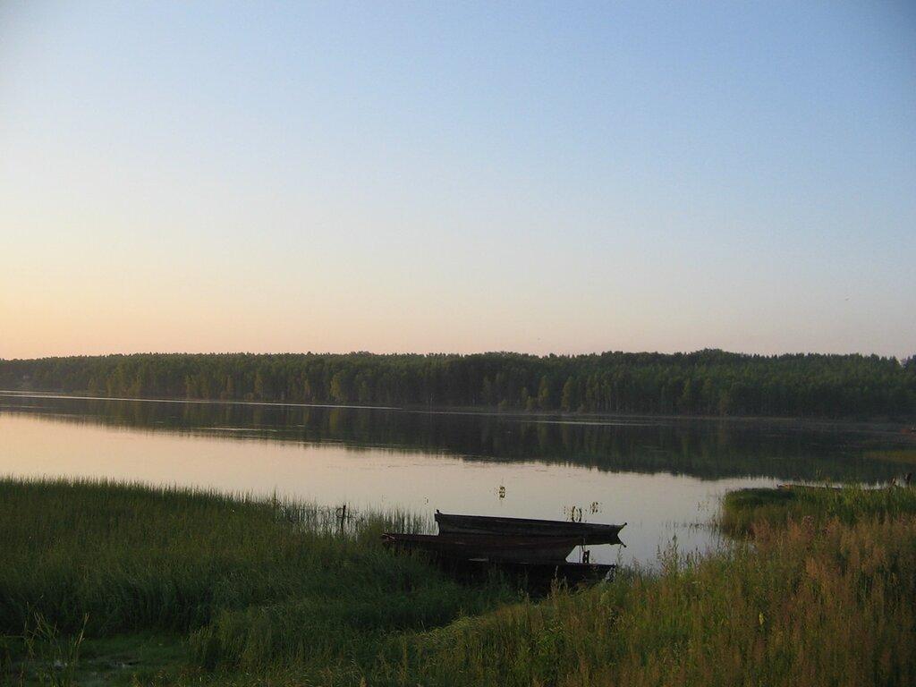 Июньский восход на кировградском пруду