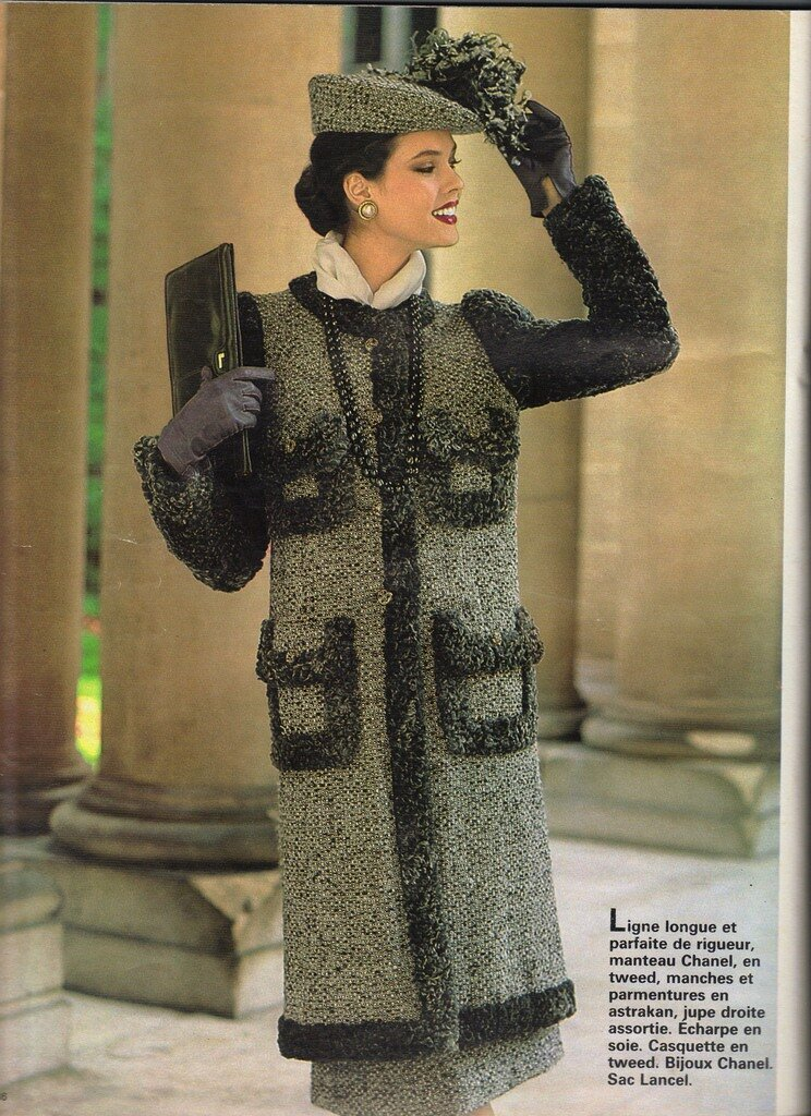 Classic Chanel 1980