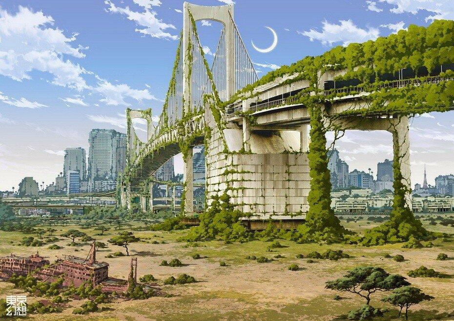Постапокалиптический Токио