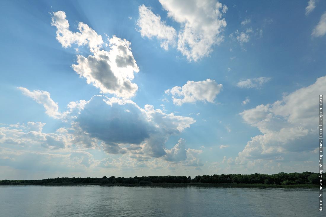 Небо над дельтой Волги