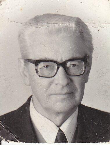 фото на служебное удостоверение. 1981 г.