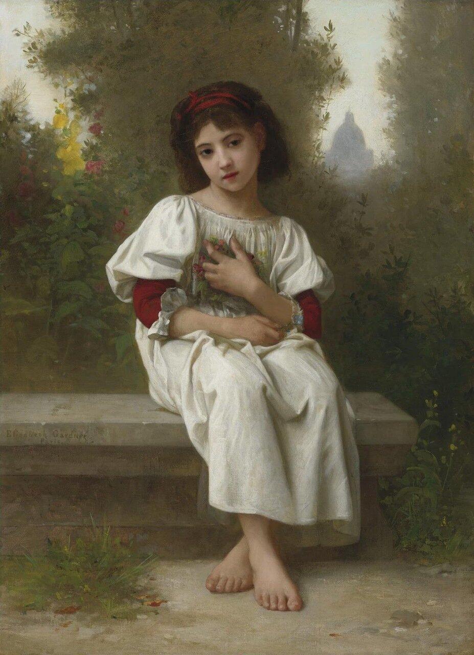 Элизабет Гарднер-Бугеро (Elizabeth Jane Gardner Bouguereau), 1837-1922. США - Франция. Ученица и вторая жена Уильяма Бугеро.