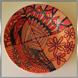 Тарелка декоративная интерьерная