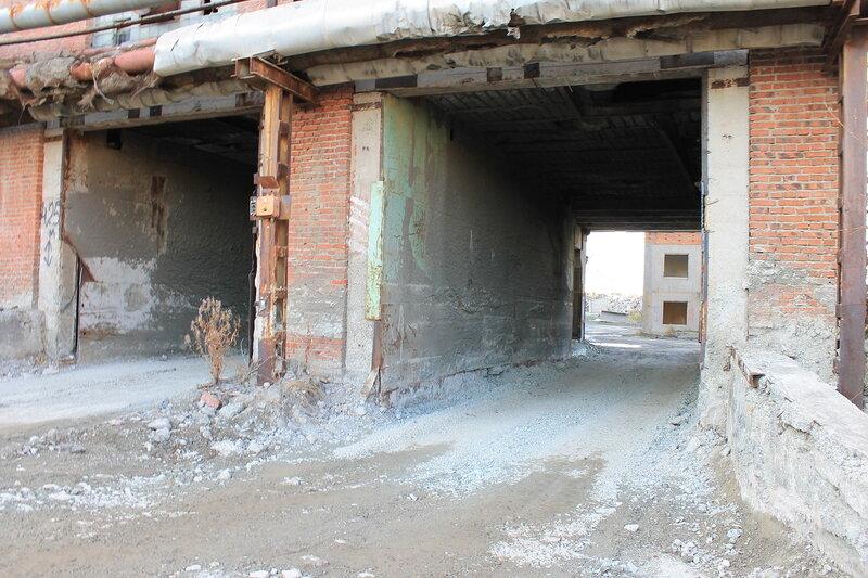 Заброшенный домостроительный завод УПП.