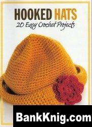 Книга Hooked Hats: 20 Easy Crochet Projects jpg 20,6Мб