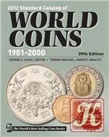 Книга 2012 Standard catalog of world coins 1901 - 2000 39th edition