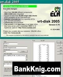Книга VRT-DISK-2005 - База данных радиодеталей и компонентов