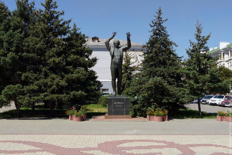 Памятник Степану Дегтяреву, 2012 г.