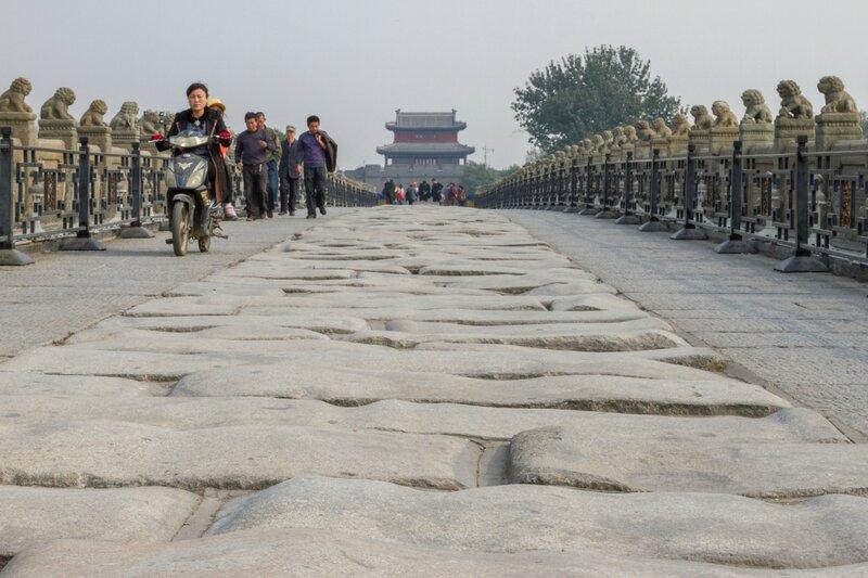 Мост Марко Поло (Лугоу) и крепость Ваньпин, Пекин