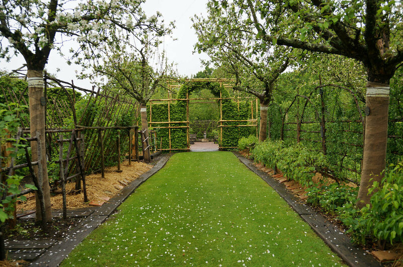 Сад при монастыре Нотр-Дам d'Orsan