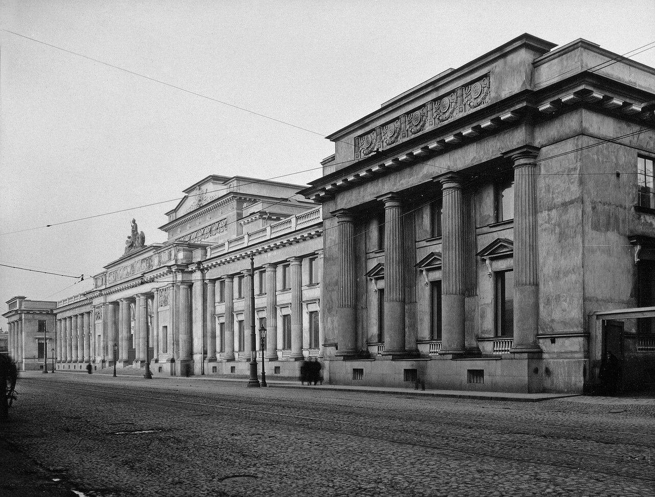 Здание Этнографического отдела при музее Александра III