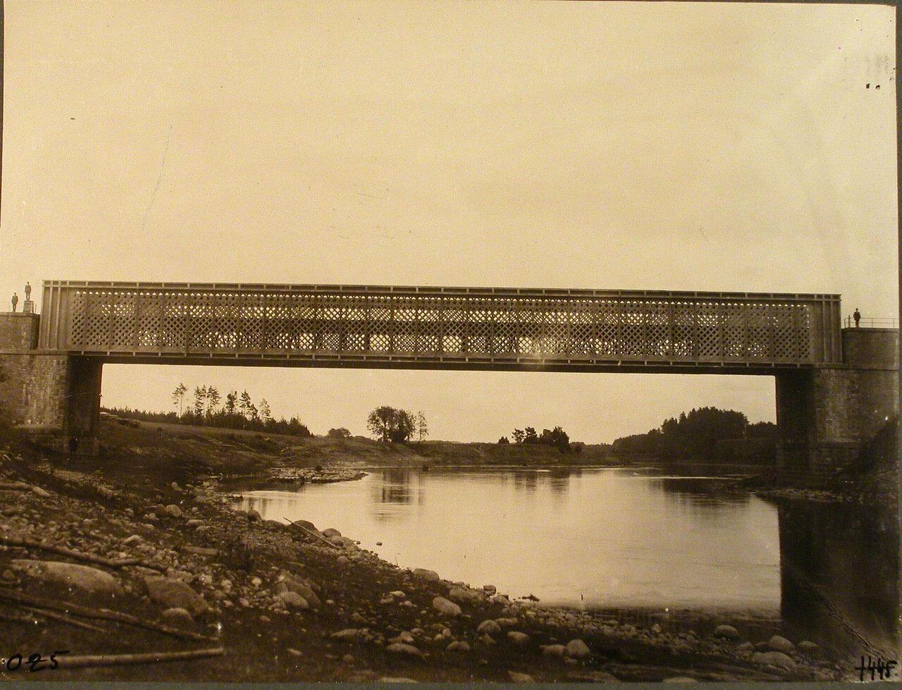 Виленская губерния. Вильна. Вид железнодорожного моста через р. Вилия на 621-й версте