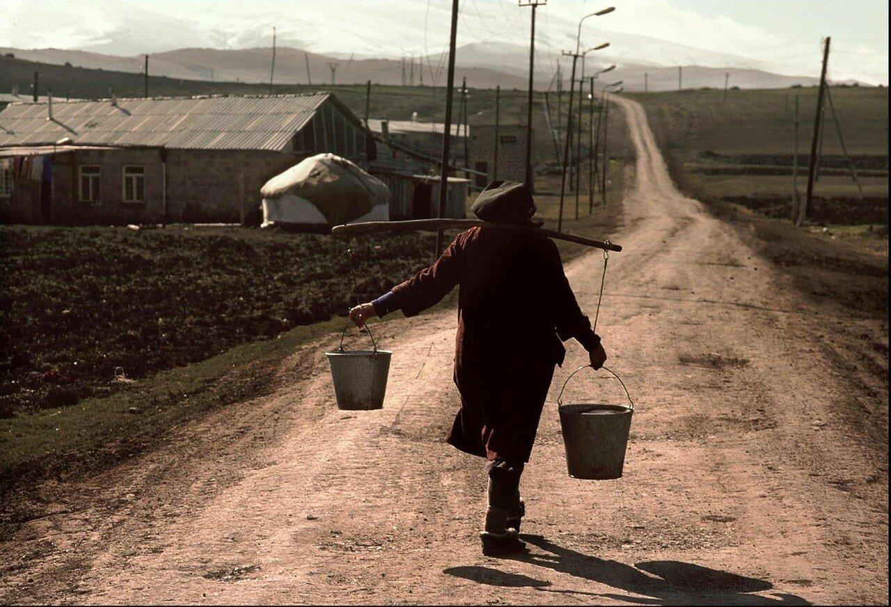 1989. Армения. Долгая дорога домой