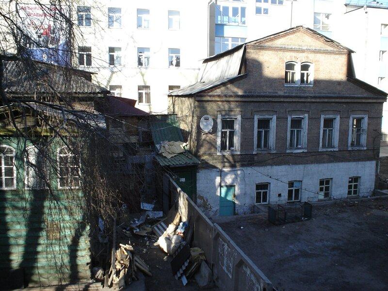 Уже бывший домик иркутского казачества