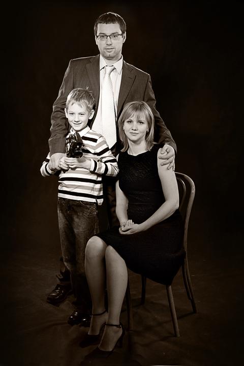 семейная фотосъемка до и после свадьбы