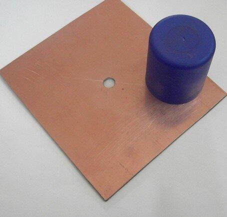 Процесс сборки рефлектора для антенны Харченко