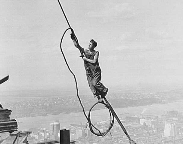 Клепальщики, США 1930 годы