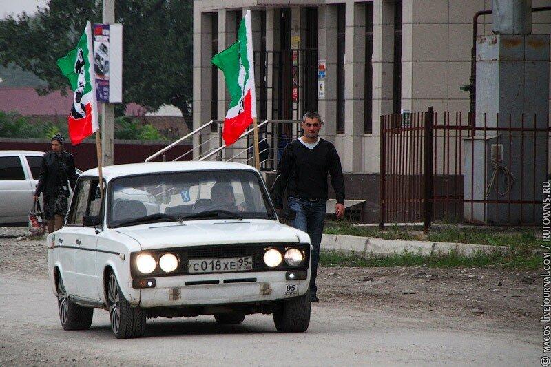 флаг на машину