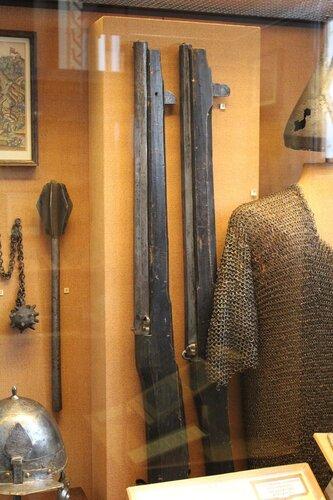 Ручницы (кулеврины) с гаком