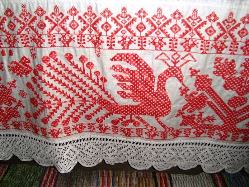 Русская вышивка кружева