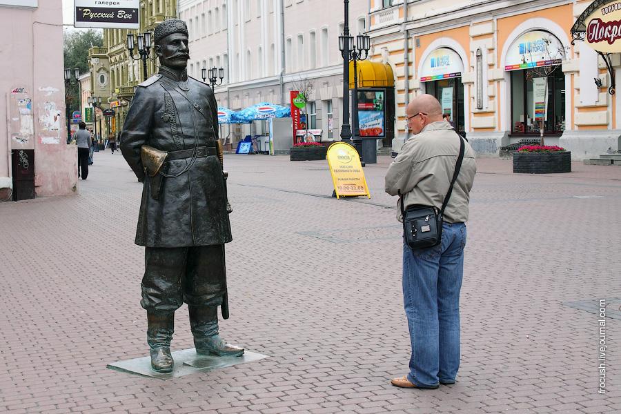 Скульптура «Городовой»
