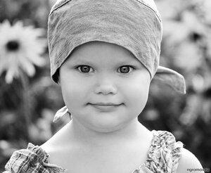 Дитя (монохром, ребенок)