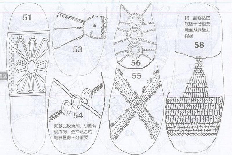 Buttertone вязаная обувь вязание крючком схемы вязания е