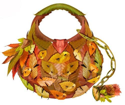 Поделки из листьев Мишель Tcherevkoff