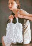 Модные вязаные сумки.