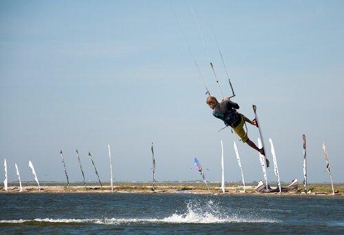 Кайтсерфинг в Анапе 2010-09-25