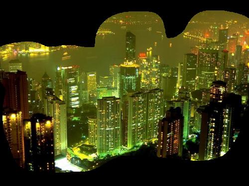 ночной город12
