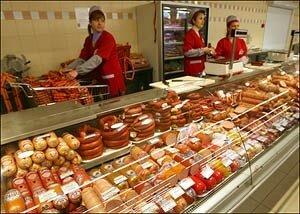 Росстат зафиксировал продовольственную дефляцию в РФ