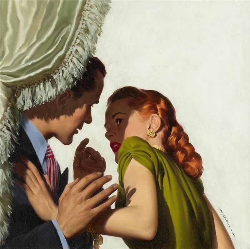 American beauties, vintage illustrations ROBERT G. HARRIS