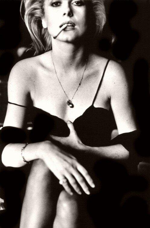 Catherine Deneuve, Photo Helmut Newton