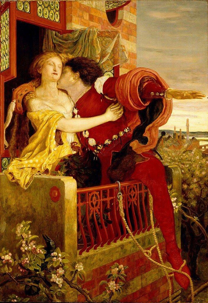 Ford Maddox Brown Roméo et Juliette 1870