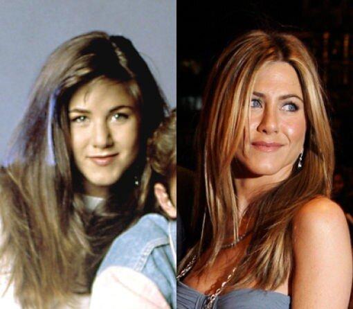 Большая разница.Jennifer Aniston